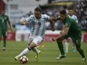 Bóng đá - Argentina - Bolivia: Vị thế kẻ mạnh