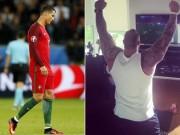 """Thể thao - """"Thần Thor"""" hả hê vì yểm bùa được Ronaldo"""