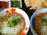 Ẩm thực - Ngon bất ngờ bún tôm Phú Mỹ