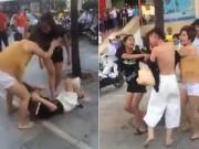 An ninh Xã hội - Bắt 2 phụ nữ đánh ghen cô gái trẻ trước siêu thị Big C