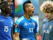 Bóng đá - Ảnh đẹp Euro 16/6: Pogba, Fellaini và kiểu tóc dị nhất