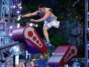 """Thể thao - Quả cảm: 1 chân vẫn chinh phục """"Ninja Mỹ"""""""