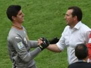 Tin nhanh Euro 16/6: Courtois mâu thuẫn với HLV trưởng ĐT Bỉ