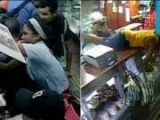 Thế giới - Video: Dân đói Venezuela xông vào cửa hàng cướp bóc