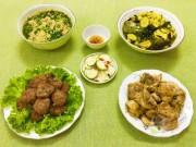 Ẩm thực - Bữa cơm hấp dẫn cho ngày mát mẻ