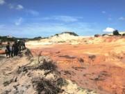 Tin tức trong ngày - Vụ vỡ hồ titan ở Bình Thuận: Tạm dừng khai thác