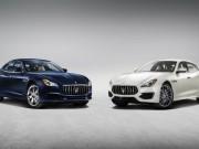 Maserati Quattroporte 2017 lộ diện, thách thức Audi A8
