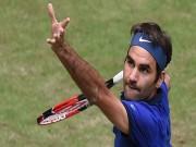 Federer - Goffin: Gừng già rất cay (TK Halle Open)