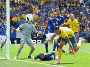 Bóng đá - Ibrahimovic vất vả trước khối bê tông Italia