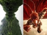 Du lịch - TQ: Núi thiêng có hình giống mặt Tôn Ngộ Không