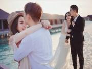 """Bạn trẻ - Cuộc sống - Ảnh cưới lãng mạn tại Maldives của """"hot girl dao kéo"""""""