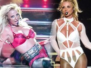 Britney Spears diện loạt đồ diễn sexy như nội y