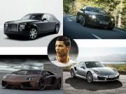 Tin tức ô tô - Định giá dàn xế khủng của chân sút Cristiano Ronaldo
