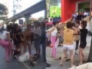 An ninh Xã hội - Khởi tố nhóm phụ nữ đánh ghen trước siêu thị Big C