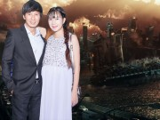 Phim - Lý Hải dẫn vợ bầu hơn 8 tháng đi xem phim hành động