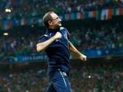 Bóng đá - HLV Ireland hân hoan với 'cơn địa chấn' trước Italy