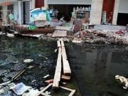 Tin tức trong ngày - 4 năm không xong 1,5 km mương, dân bịt mũi sống giữa Thủ đô