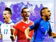 Bóng đá - Dream Team vòng bảng Euro: Bale đánh bật Ronaldo