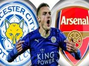 """Bóng đá - """"Lật kèo"""" Arsenal, Vardy ở lại Leicester thêm 4 năm"""