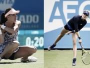 """Thể thao - Tennis: Người đẹp bắt vô-lê hạ gục """"hoa khôi"""""""