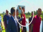 Bóng đá - Tin nhanh Euro 23/6: CR7 bị bắt xin lỗi vụ ném mic