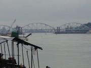 Tin tức trong ngày - Chùm ảnh: Cầu Ghềnh mới trước ngày thông tàu