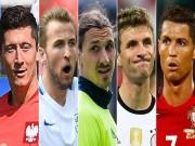 Bóng đá - Ronaldo, Ibra tới Muller: Ghi bàn ở Euro quá khó