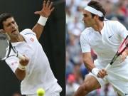 Thể thao - Phân nhánh Wimbledon: Federer đụng Djokovic ở bán kết