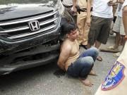 An ninh Xã hội - Trộm xế hộp gây tai nạn bị công an tóm gọn