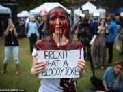 Thế giới - Ảnh: Dân Anh rầm rộ đổ xuống đường phản đối rời EU