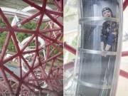 Thế giới - Thót tim lướt trong hầm trượt cao và dài nhất thế giới