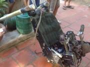 Ngư dân tìm thấy chiếc ghế của phi công Trần Quang Khải