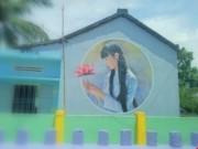 Tin tức trong ngày - Độc đáo ngôi làng bích họa ở TP Tam Kỳ