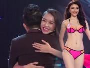 Thời trang - Trấn Thành ôm thí sinh hoa hậu chưa tốt nghiệp PTTH
