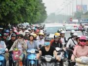 Tin tức trong ngày - Hà Nội có thể cấm xe máy từ năm 2025