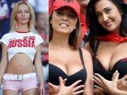 """Thời trang - Nhan sắc của các fan nữ """"hot"""" nhất vòng loại Euro 2016"""