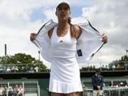 """Thể thao - Wimbledon ngày 1: Hoa khôi Ivanovic """"ngã ngựa"""""""