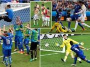 """Euro 2016 - (Đồ họa) Chấm điểm Ý - TBN: Tôn vinh """"hòn đá tảng"""""""