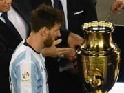 Bóng đá - Messi chia tay ĐT Argentina: Khúc bi ca định mệnh