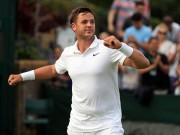 """Thể thao - Wimbledon: Tay vợt vô danh """"đổi đời"""" nhờ người yêu"""