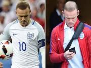 """Bóng đá - Thua Iceland, chỉ 1 đêm Rooney """"xuống cấp"""" trầm trọng"""