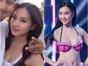 Sao ngoại-sao nội - Vợ Duy Nhân sững sờ vì thí sinh Hoa hậu giống hệt mình