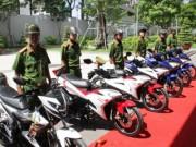 Tin tức trong ngày - Trang bị 100 mô tô đặc chủng cho CA bắt cướp ở Sài Gòn