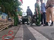 Tin tức trong ngày - Dọa đốt xe máy, uy hiếp CSGT khi bị bắt lỗi giao thông
