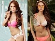 Thời trang - Á hậu Linh Chi khoe ảnh bikini tạm biệt tháng 6