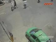 Video An ninh - Bắt nữ côn đồ truy sát nhân viên bến xe Vinh