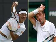 Thể thao - Nishikori - Benneteau: Lội ngược dòng (Vòng 2 Wimbledon)
