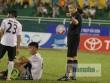 """Vua áo đen Nguyễn Trọng Thư tiếp tục """"mất tích"""" ở vòng 11 V-League"""
