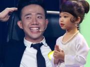 """MC nhỏ tuổi nhất VN khiến Trấn Thành cười  """" lăn lộn """""""