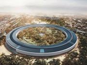 """Công nghệ thông tin - Video flycam mới nhất về """"trụ sở phi thuyền"""" Apple Park"""